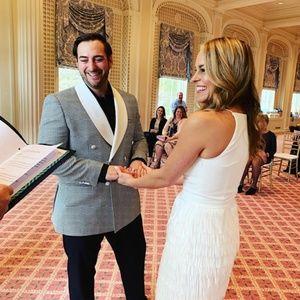 Aidan Mattox Promenade Dress | BHLDN | Worn once!